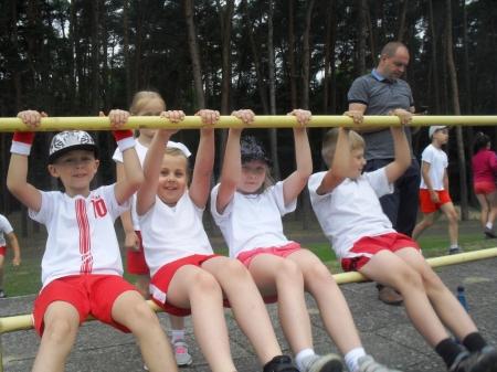 Zawody sportowe klas I-IV w Goleniowie