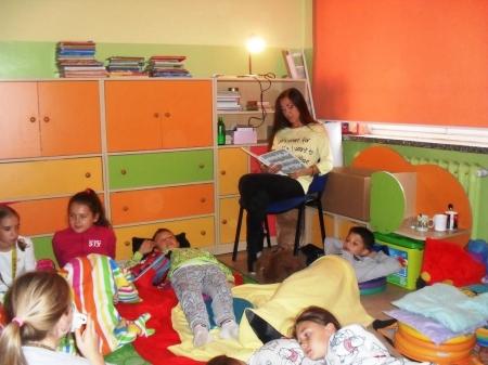 Dzień Głośnego Czytania w klasie 3a