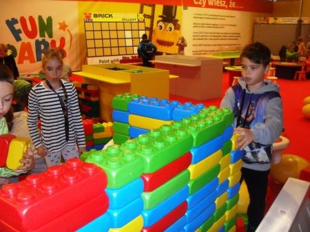 Wycieczka do Netto Arena na wystawę klocków lego