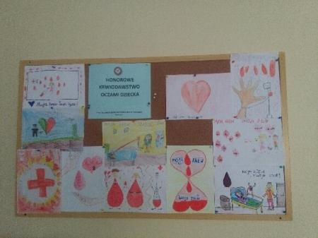 Prace naszych uczniów w Regionalnym Centrum Krwiodawstwa i Krwiolecznictwa