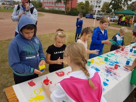 Klasa 3a na Polsko-Niemieckim Festiwalu Sportu w Schwedt