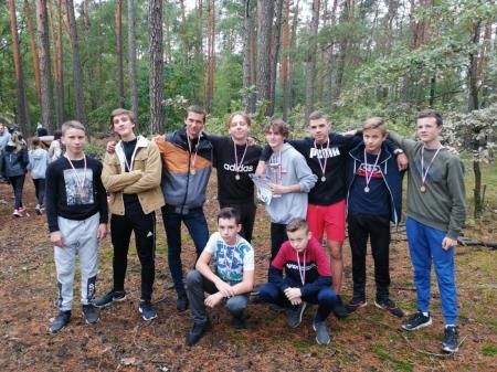 Mistrzostwa Powiatu w sztafetowych biegach dziewcząt i chłopców