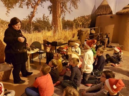 Mikołajkowa wycieczka 3a - Lekcja muzealna