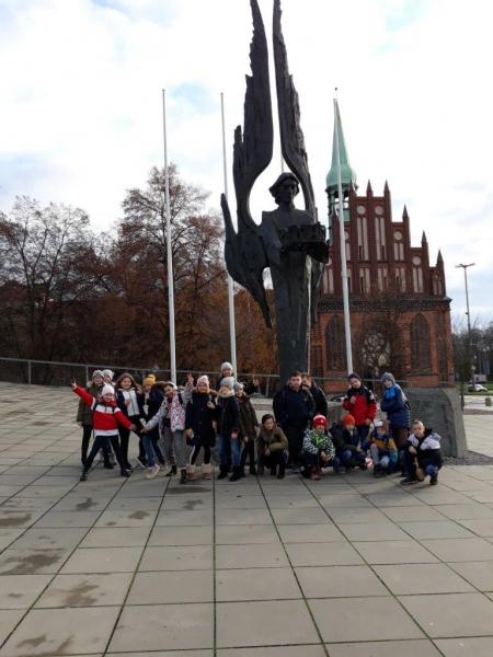 Klasa 5c w Centrum Dialogu Przełomy w Szczecinie