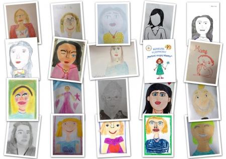 """Wyniki konkursu """"Portret mojej Mamy"""""""