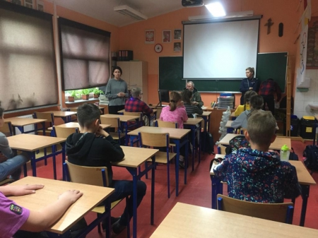 Pogadanki dla uczniów w ramach Wojewódzkiego Programu Profilaktyki Używania S