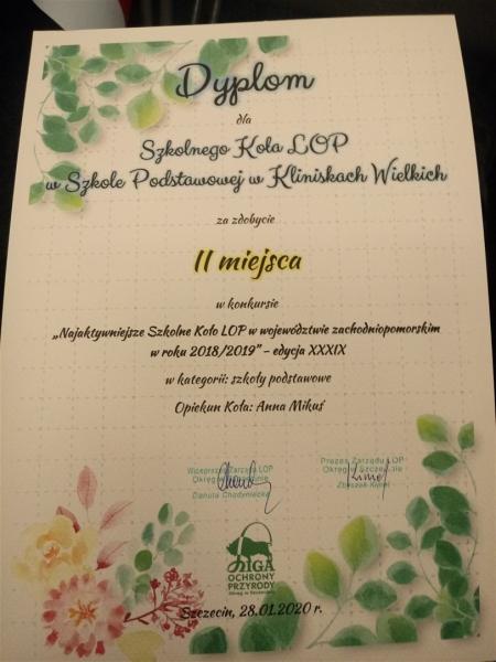 Uroczyste podsumowanie konkursów LOP w Szczecinie