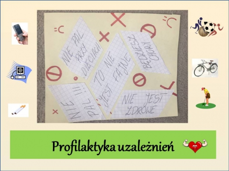 Działania profilaktyczne szkoły