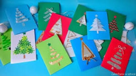 Świątecznej kartki blask