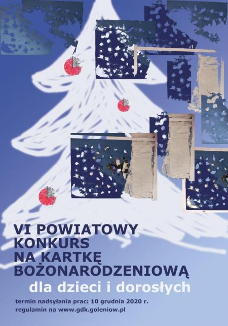 VI Powiatowy Konkurs na kartkę Bożonarodzeniową