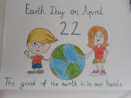 EARTH DAY czyli Dzień Ziemi po angielsku!
