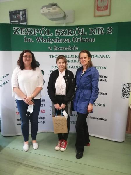 Martyna Mańczuk  finalistką  VI Wojewódzkiego Konkursu ''Mistrz OZE''