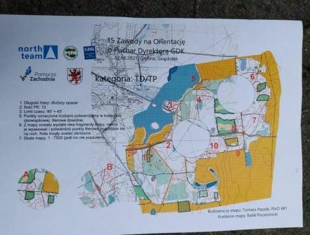 XV Zawody na Orientację o Puchar Dyrektora Gryfińskiego Domu Kultury